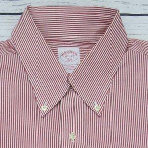 Brooks Brothers 346 Stripe The Original Polo Shirt
